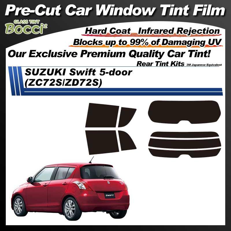 SUZUKI Swift 5-door (ZC72S/ZD72S) Pre-Cut Car Tint Film UV IR 3M Japanese Equivalent