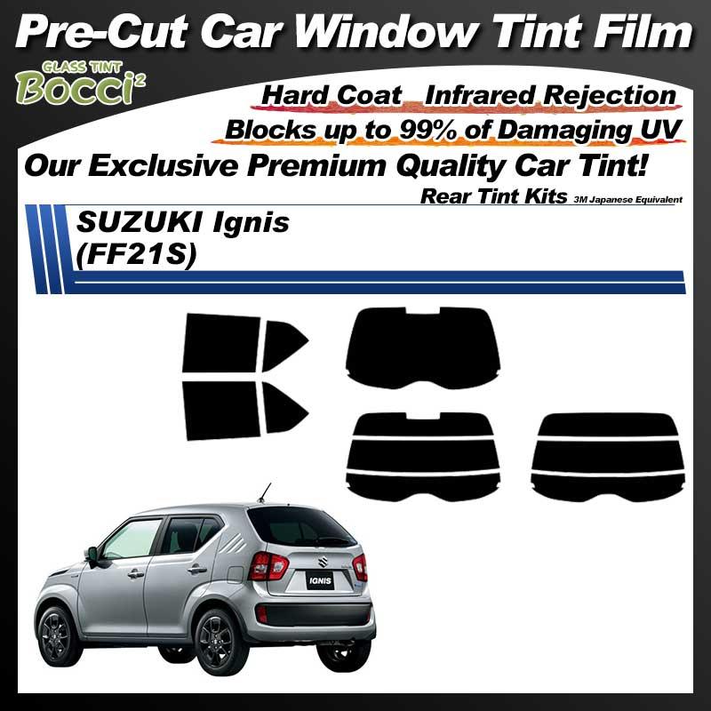 SUZUKI Ignis (FF21S) Pre-Cut Car Tint Film UV IR 3M Japanese Equivalent