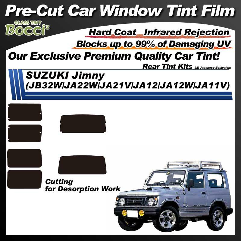 SUZUKI Jimny (JB32W/JA22W/JA21V/JA12/JA12W/JA11V) Pre-Cut Car Tint Film UV IR 3M Japanese Equivalent