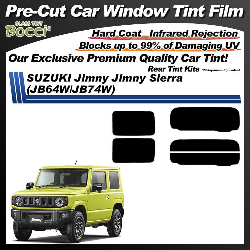 SUZUKI Jimny Jimny Sierra (JB64W/JB74W) Pre-Cut Car Tint Film UV IR 3M Japanese Equivalent