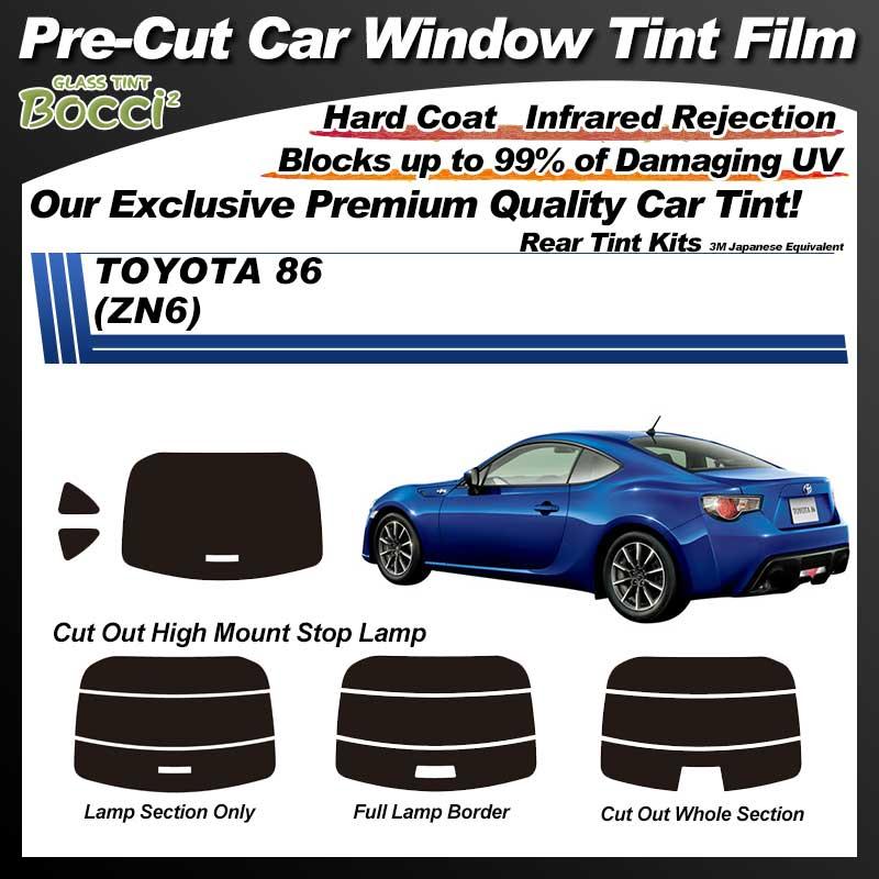 TOYOTA 86 (ZN6) Pre-Cut Car Tint Film UV IR 3M Japanese Equivalent