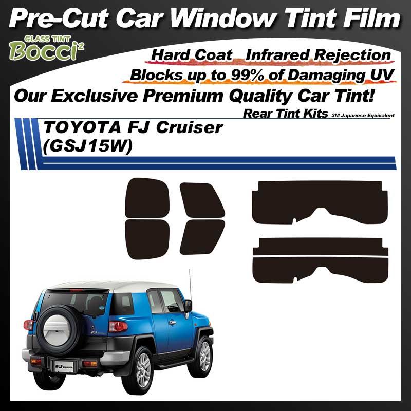 TOYOTA FJ Cruiser (GSJ15W) Pre-Cut Car Tint Film UV IR 3M Japanese Equivalent