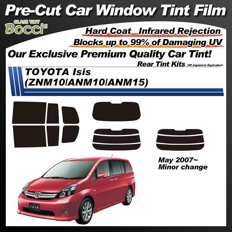 TOYOTA Isis (ZNM10/ANM10/ANM15) Pre-Cut Car Tint Film UV IR 3M Japanese Equivalent