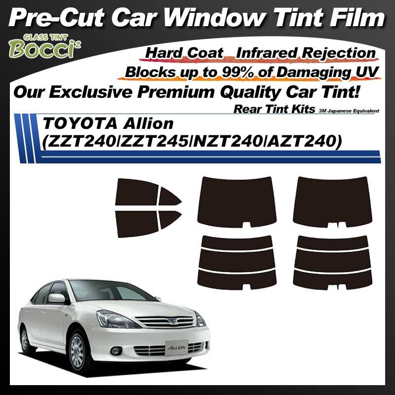 TOYOTA Allion (ZZT240/ZZT245/NZT240/AZT240) Pre-Cut Car Tint Film UV IR 3M Japanese Equivalent