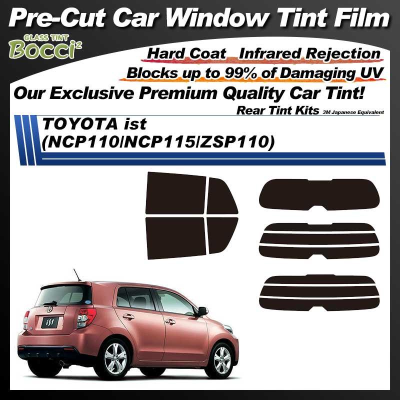 TOYOTA ist (NCP110/NCP115/ZSP110) Pre-Cut Car Tint Film UV IR 3M Japanese Equivalent