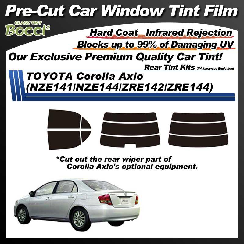 TOYOTA Corolla Axio (NZE141/NZE144/ZRE142/ZRE144) Pre-Cut Car Tint Film UV IR 3M Japanese Equivalent