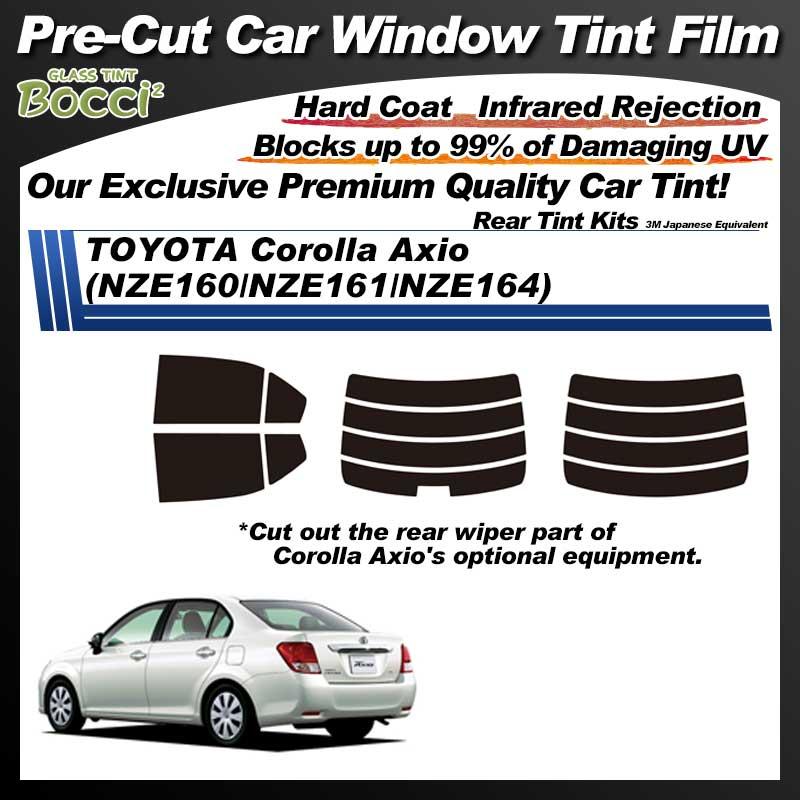 TOYOTA Corolla Axio (NZE160/NZE161/NZE164) Pre-Cut Car Tint Film UV IR 3M Japanese Equivalent