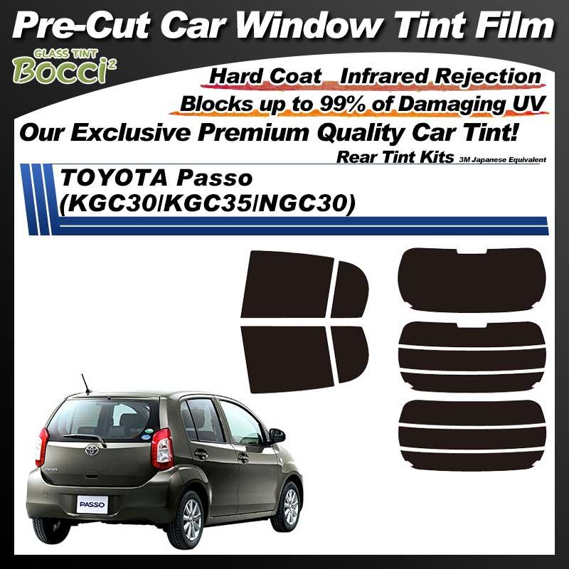 TOYOTA Passo (KGC30/KGC35/NGC30) Pre-Cut Car Tint Film UV IR 3M Japanese Equivalent