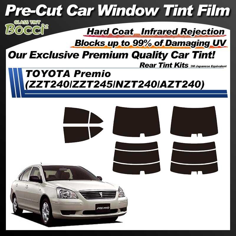 TOYOTA Premio (ZZT240/ZZT245/NZT240/AZT240) Pre-Cut Car Tint Film UV IR 3M Japanese Equivalent