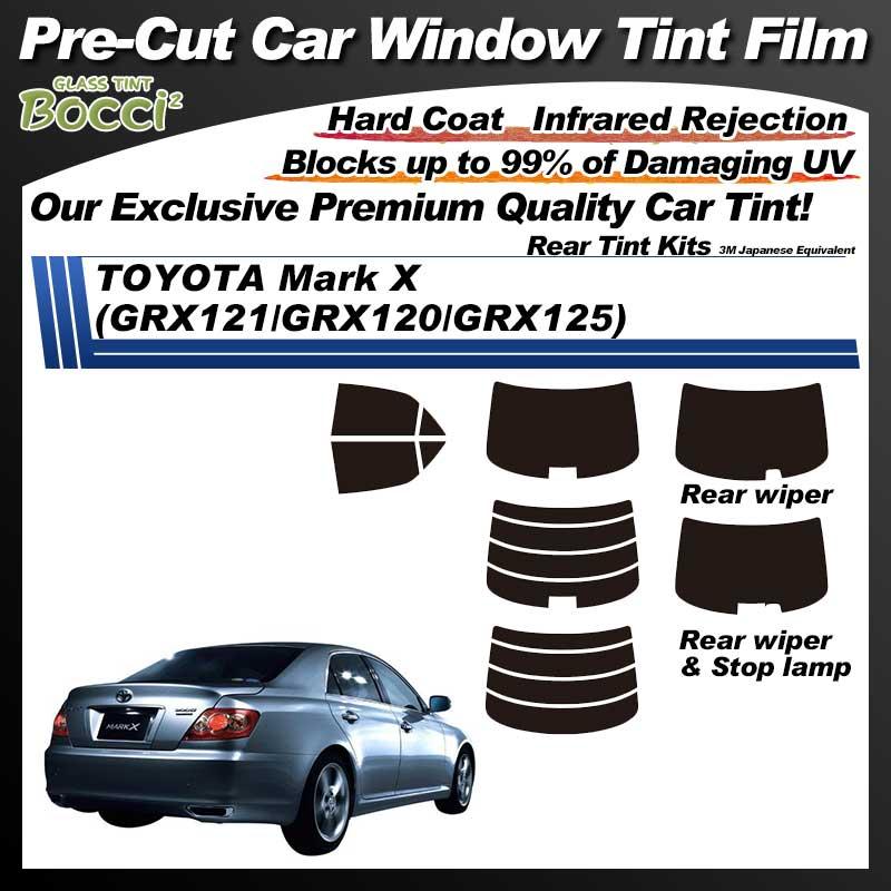 TOYOTA Mark X (GRX121/GRX120/GRX125) Pre-Cut Car Tint Film UV IR 3M Japanese Equivalent