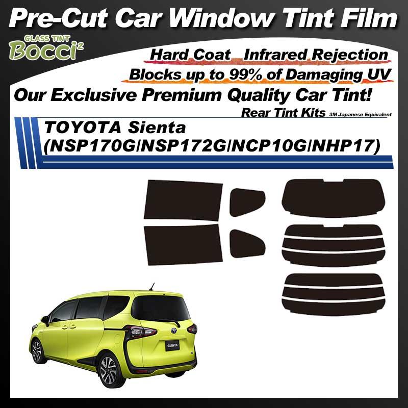 TOYOTA Sienta (NSP170G/NSP172G/NCP10G/NHP17) Pre-Cut Car Tint Film UV IR 3M Japanese Equivalent