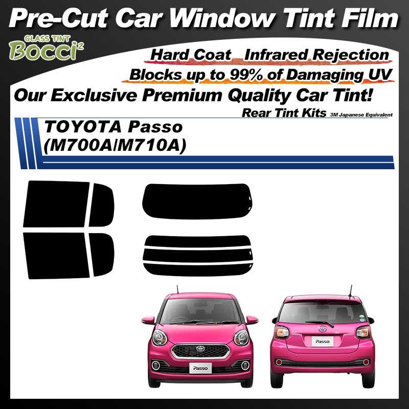 TOYOTA Passo (M700A/M710A) Pre-Cut Car Tint Film UV IR 3M Japanese Equivalent