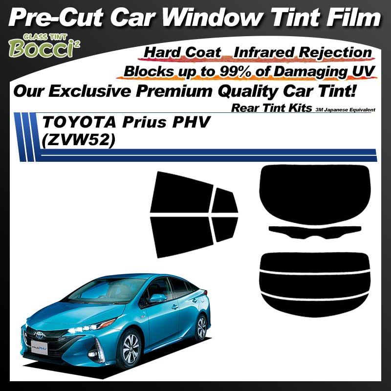 TOYOTA Prius PHV (ZVW52) Pre-Cut Car Tint Film UV IR 3M Japanese Equivalent