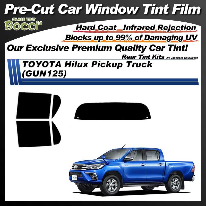 TOYOTA Hilux Pickup Truck (GUN125) Pre-Cut Car Tint Film UV IR 3M Japanese Equivalent