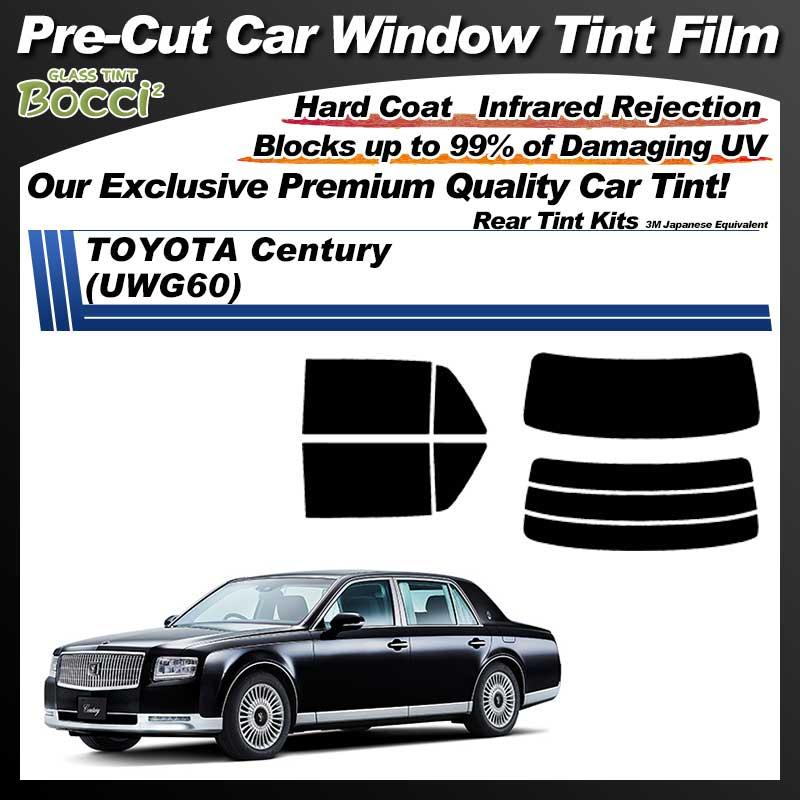TOYOTA Century (UWG60) Pre-Cut Car Tint Film UV IR 3M Japanese Equivalent