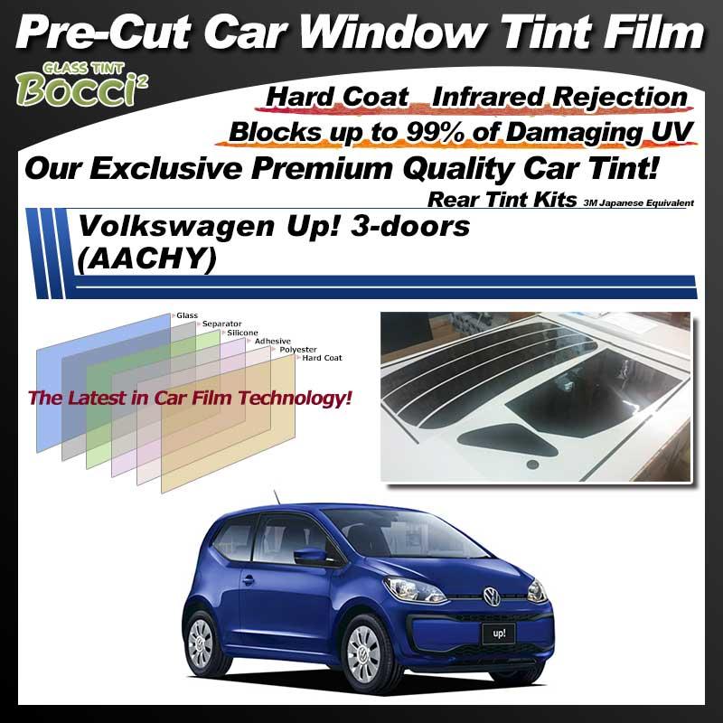 Volkswagen Up! 3-doors (AACHY) Pre-Cut Car Tint Film UV IR 3M Japanese Equivalent