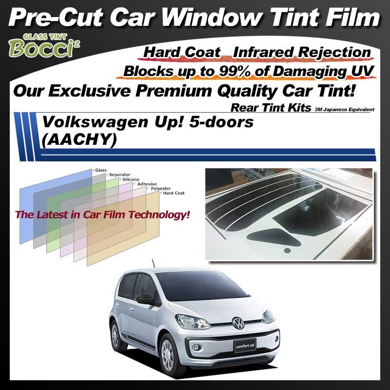 Volkswagen Up! 5-doors (AACHY) Pre-Cut Car Tint Film UV IR 3M Japanese Equivalent