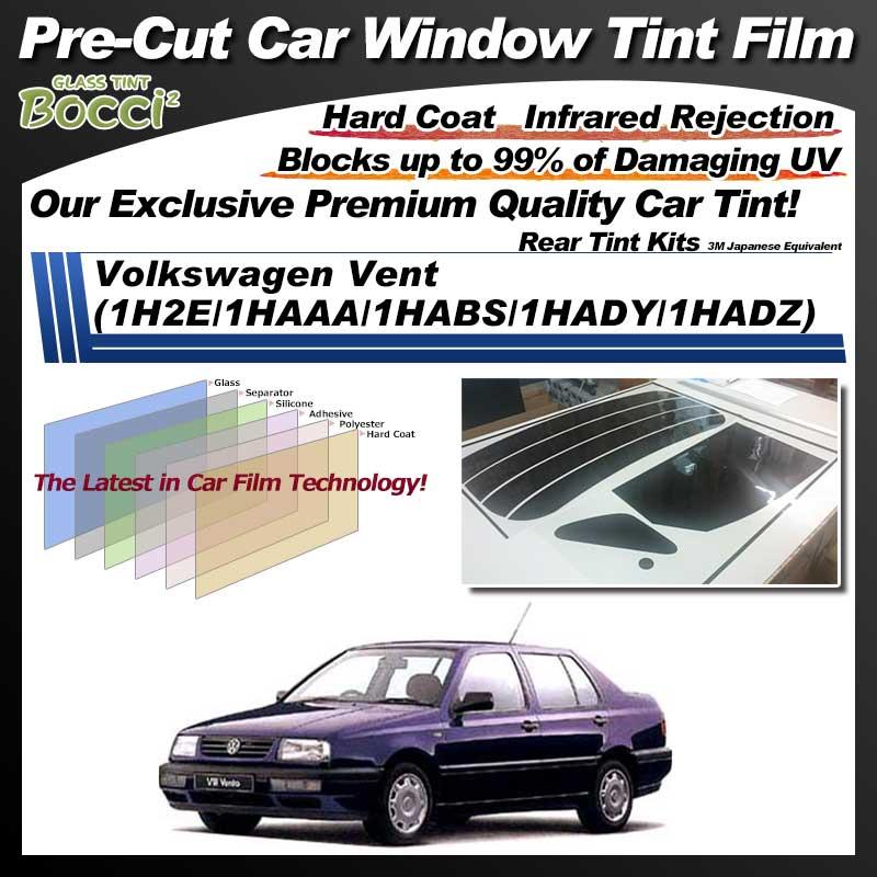 Volkswagen Vent (1H2E/1HAAA/1HABS/1HADY/1HADZ) Pre-Cut Car Tint Film UV IR 3M Japanese Equivalent