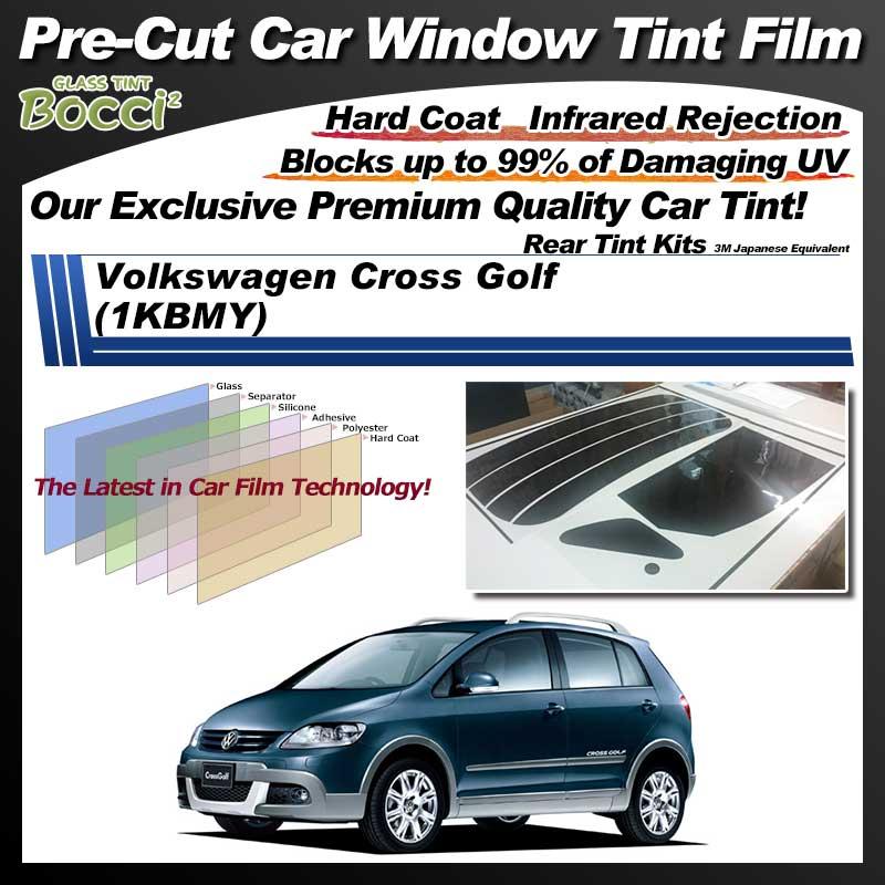 Volkswagen Cross Golf (1KBMY) Pre-Cut Car Tint Film UV IR 3M Japanese Equivalent