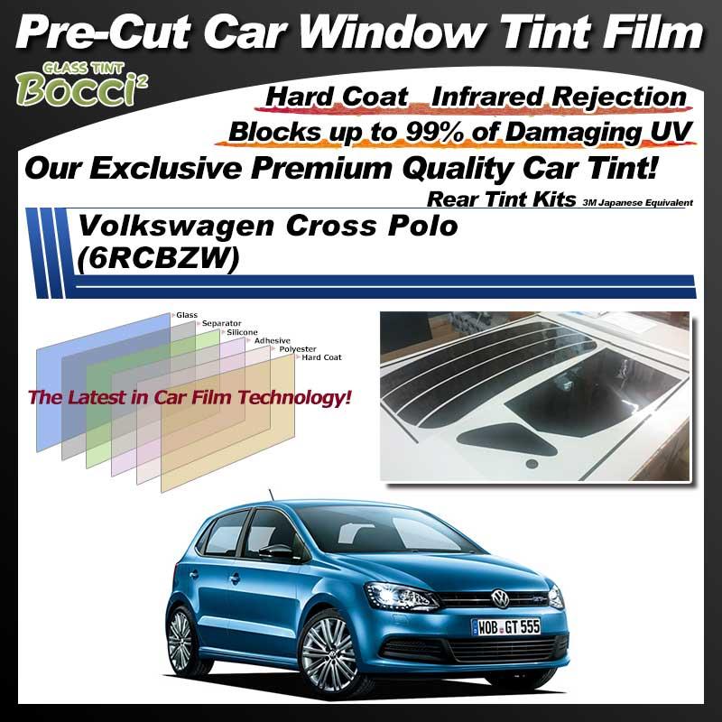 Volkswagen Cross Polo (6RCBZW) Pre-Cut Car Tint Film UV IR 3M Japanese Equivalent