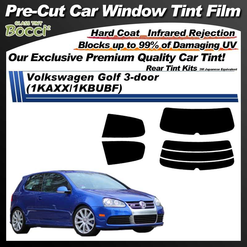 Volkswagen Golf 3-door (1KAXX/1KBUBF) Pre-Cut Car Tint Film UV IR 3M Japanese Equivalent