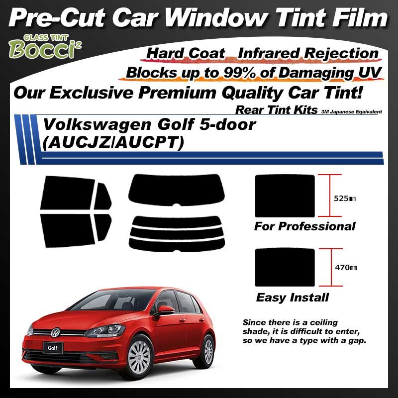 Volkswagen Golf 5-door (AUCJZ/AUCPT) Pre-Cut Car Tint Film UV IR 3M Japanese Equivalent