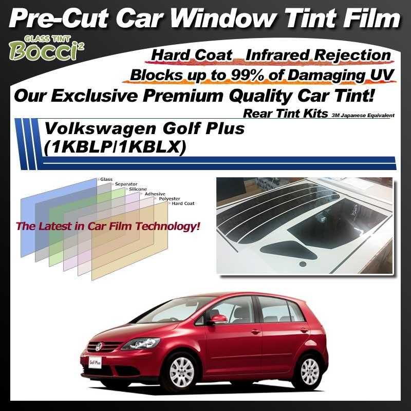 Volkswagen Golf Plus (1KBLP/1KBLX) Pre-Cut Car Tint Film UV IR 3M Japanese Equivalent