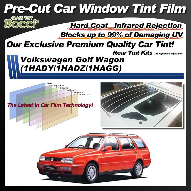 Volkswagen Golf Wagon (1HADY/1HADZ/1HAGG) Pre-Cut Car Tint Film UV IR 3M Japanese Equivalent