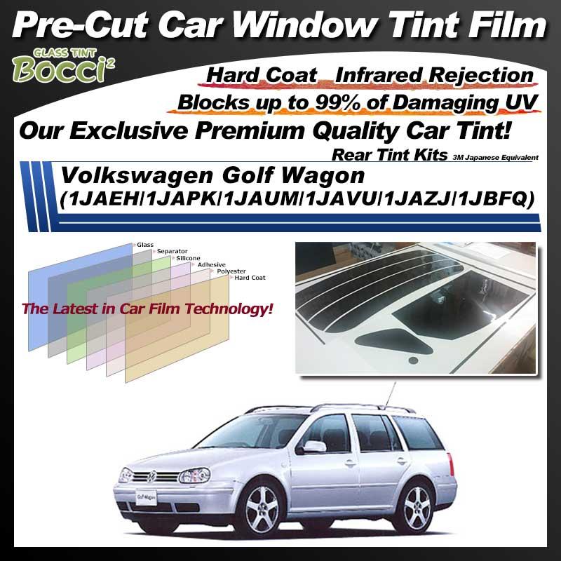 Volkswagen Golf Wagon (1JAEH/1JAPK/1JAUM/1JAVU/1JAZJ/1JBFQ) Pre-Cut Car Tint Film UV IR 3M Japanese Equivalent