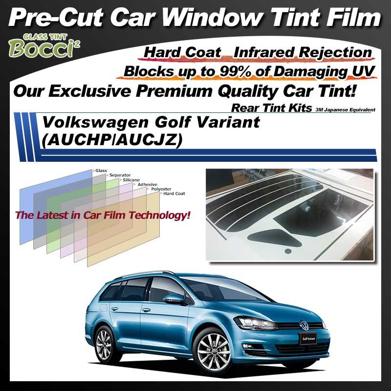 Volkswagen Golf variant (AUCHP/AUCJZ) Pre-Cut Car Tint Film UV IR 3M Japanese Equivalent
