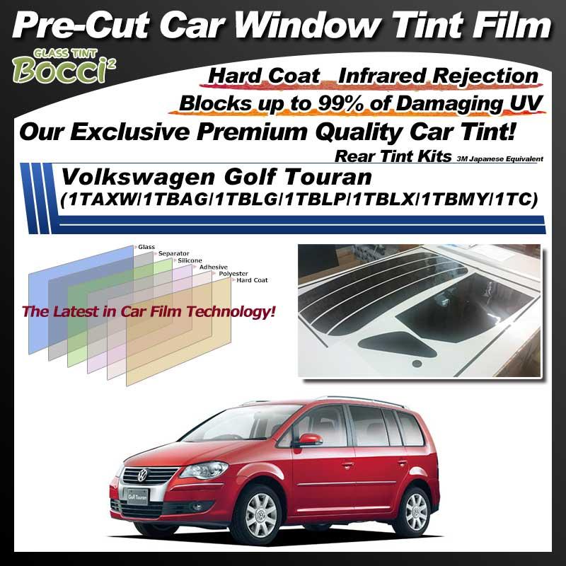 Volkswagen Golf Touran (1TAXW/1TBAG/1TBLG/1TBLP/1TBLX/1TBMY/1TC) Pre-Cut Car Tint Film UV IR 3M Japanese Equivalent