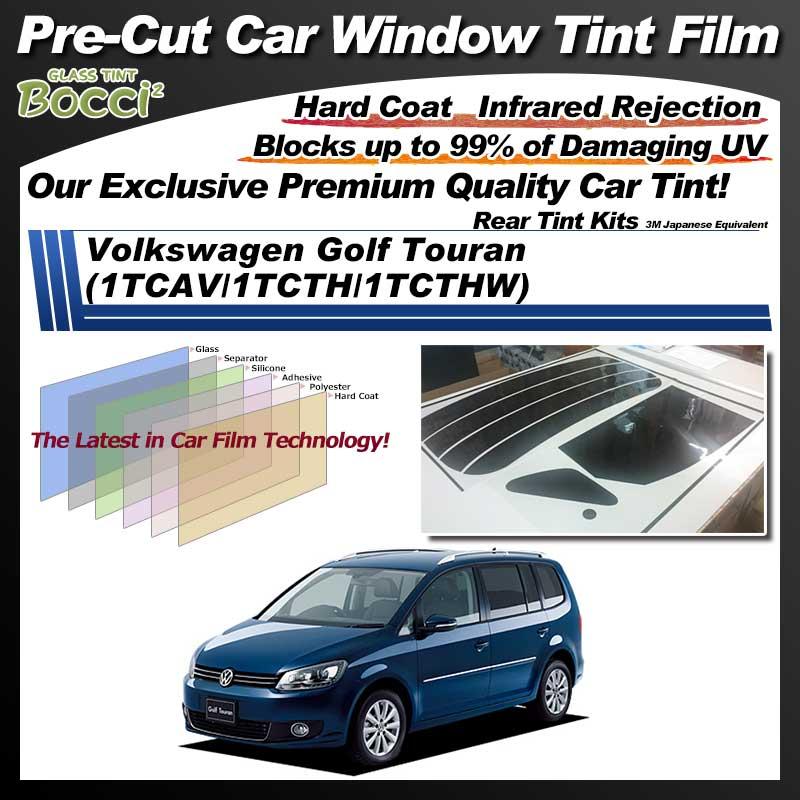 Volkswagen Golf Touran (1TCAV/1TCTH/1TCTHW) Pre-Cut Car Tint Film UV IR 3M Japanese Equivalent