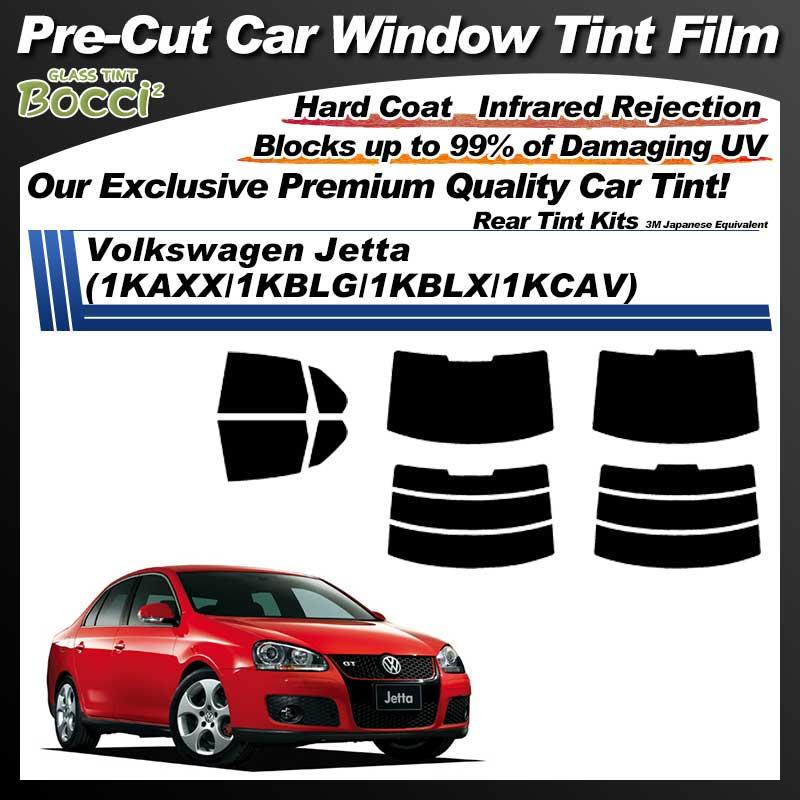 Volkswagen Jetta (1KAXX/1KBLG/1KBLX/1KCAV) Pre-Cut Car Tint Film UV IR 3M Japanese Equivalent