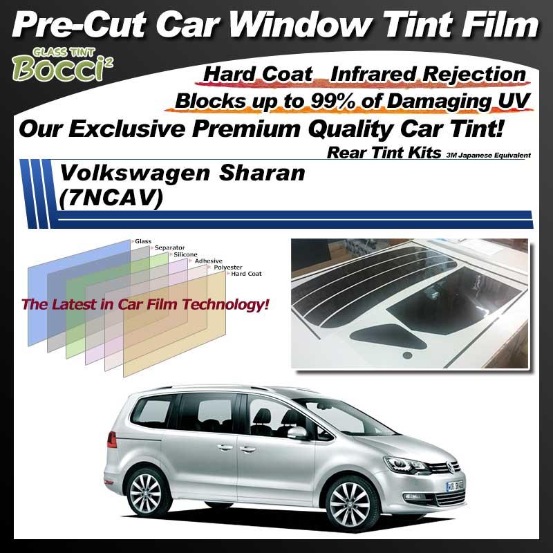 Volkswagen Sharan (7NCAV) Pre-Cut Car Tint Film UV IR 3M Japanese Equivalent