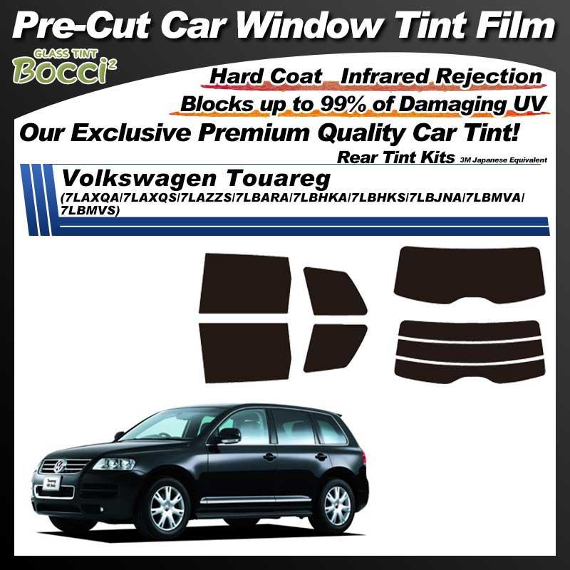 Volkswagen Touareg (7LAXQA/7LAXQS/7LAZZS/7LBARA/7LBHKA/7LBHKS/7LBJNA/7LBMVA/7LBMVS) Pre-Cut Car Tint Film UV IR 3M Japanese Equivalent