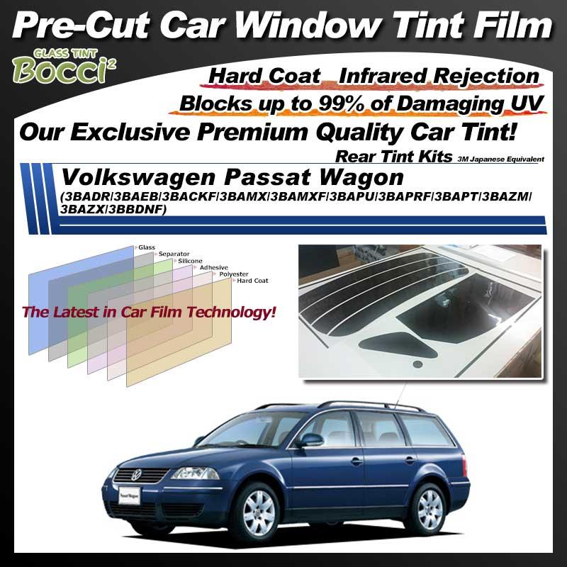 Volkswagen Passat Wagon (3BADR/3BAEB/3BACKF/3BAMX/3BAMXF/3BAPU/3BAPRF/3BAPT/3BAZM/3BAZX/3BBDNF) Pre-Cut Car Tint Film UV IR 3M Japanese Equivalent