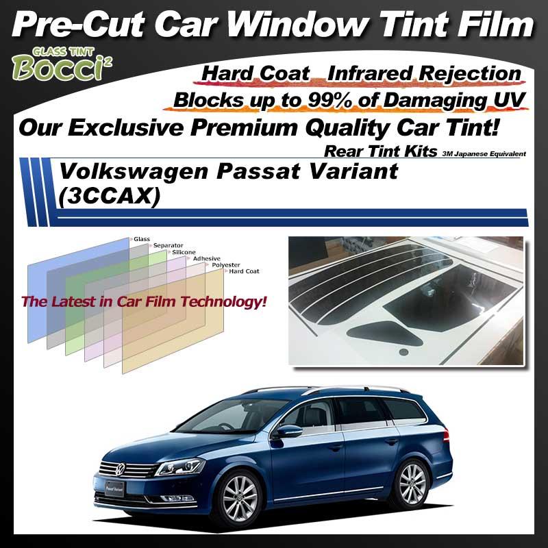 Volkswagen Passat Variant (3CCAX) Pre-Cut Car Tint Film UV IR 3M Japanese Equivalent