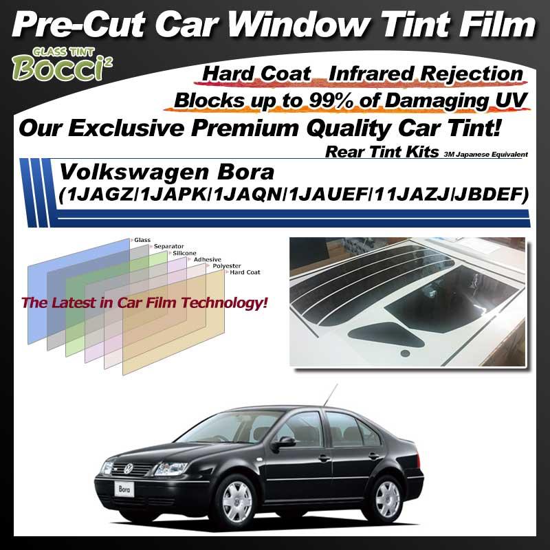Volkswagen Bora (1JAGZ/1JAPK/1JAQN/1JAUEF/11JAZJ/JBDEF) Pre-Cut Car Tint Film UV IR 3M Japanese Equivalent