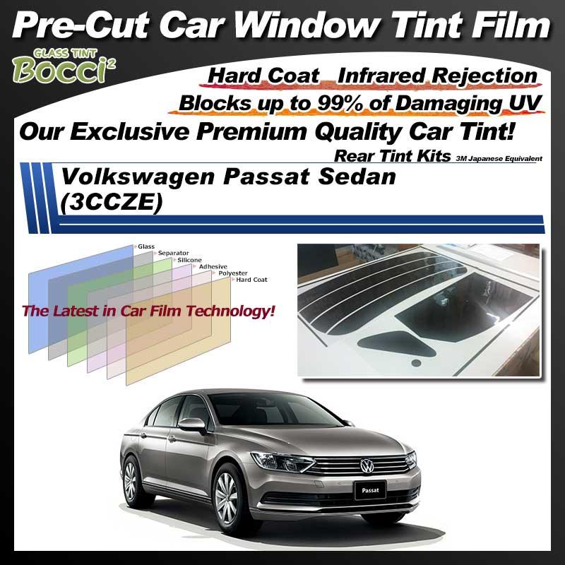 Volkswagen Passat Sedan (3CCZE) Pre-Cut Car Tint Film UV IR 3M Japanese Equivalent