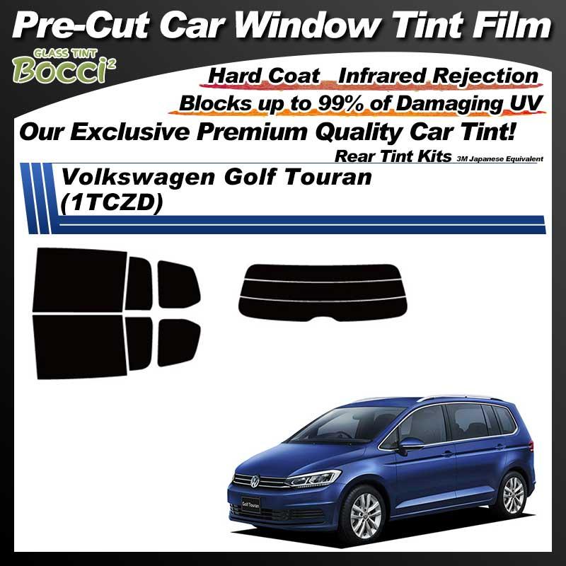 Volkswagen Golf Touran (1TCZD) Pre-Cut Car Tint Film UV IR 3M Japanese Equivalent