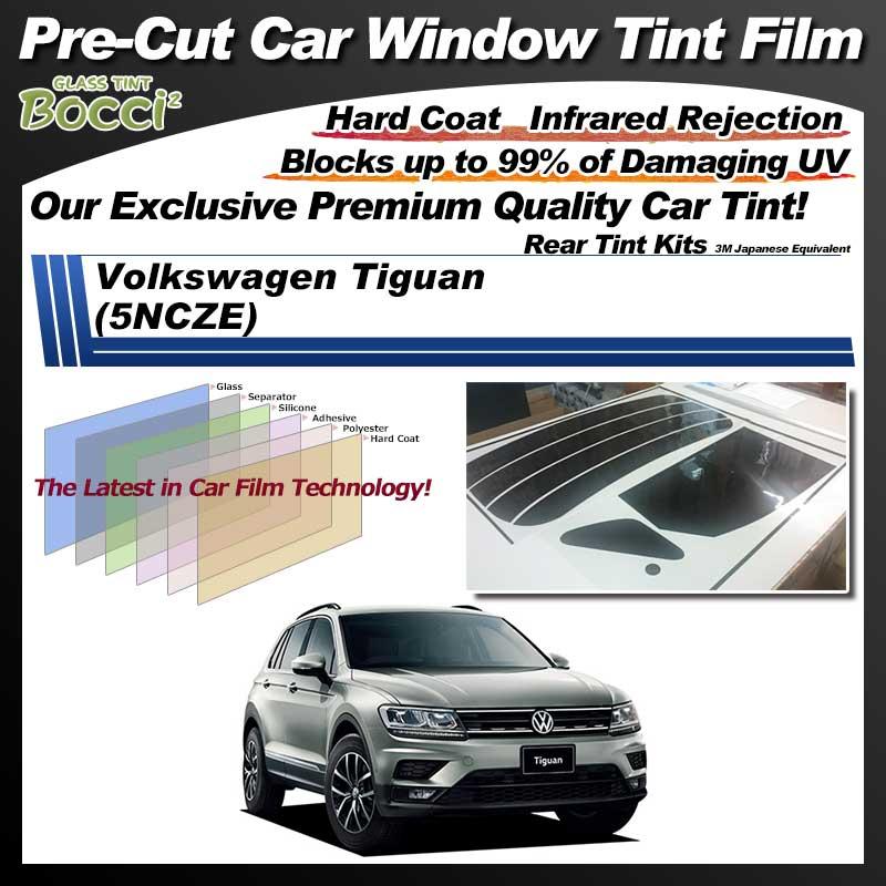 Volkswagen Tiguan (5NCZE) Pre-Cut Car Tint Film UV IR 3M Japanese Equivalent