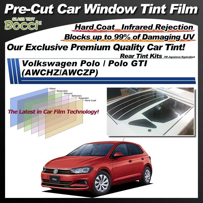 Volkswagen Polo / Polo GTI (AWCHZ/AWCZP) Pre-Cut Car Tint Film UV IR 3M Japanese Equivalent