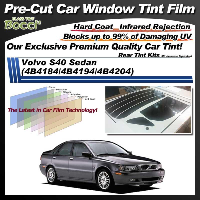 Volvo S40 Sedan (4B4184/4B4194/4B4204) Pre-Cut Car Tint Film UV IR 3M Japanese Equivalent