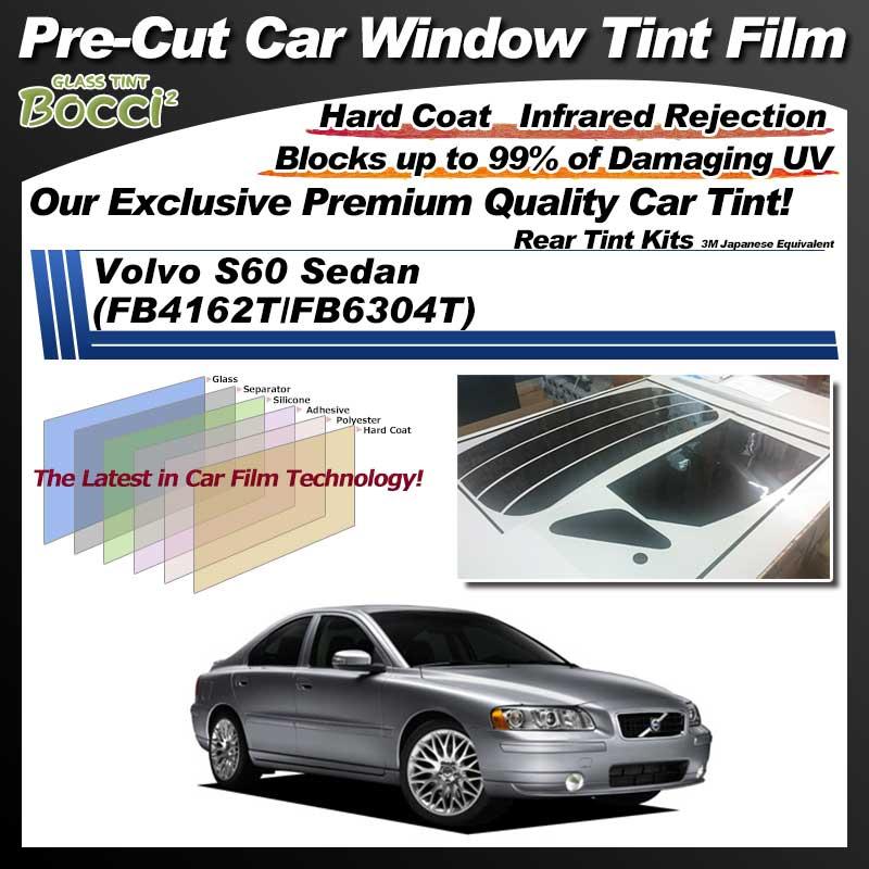 Volvo S60 Sedan (FB4162T/FB6304T) Pre-Cut Car Tint Film UV IR 3M Japanese Equivalent