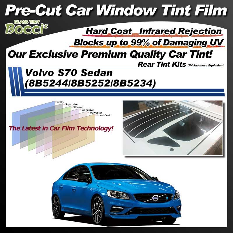 Volvo S70 Sedan (8B5244/8B5252/8B5234) Pre-Cut Car Tint Film UV IR 3M Japanese Equivalent