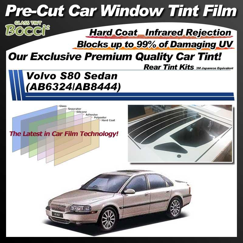 Volvo S80 Sedan (AB6324/AB8444) Pre-Cut Car Tint Film UV IR 3M Japanese Equivalent