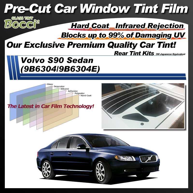 Volvo S90 Sedan (9B6304/9B6304E) Pre-Cut Car Tint Film UV IR 3M Japanese Equivalent