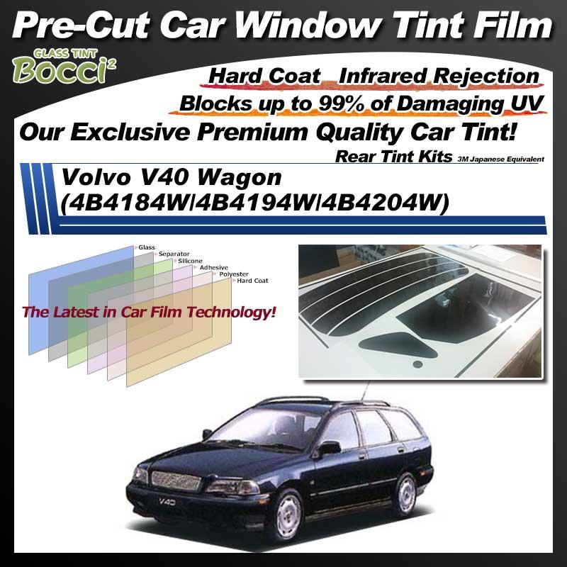 Volvo V40 Wagon (4B4184W/4B4194W/4B4204W) Pre-Cut Car Tint Film UV IR 3M Japanese Equivalent