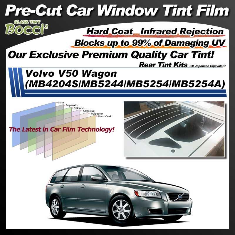 Volvo V50 Wagon (MB4204S/MB5244/MB5254/MB5254A) Pre-Cut Car Tint Film UV IR 3M Japanese Equivalent