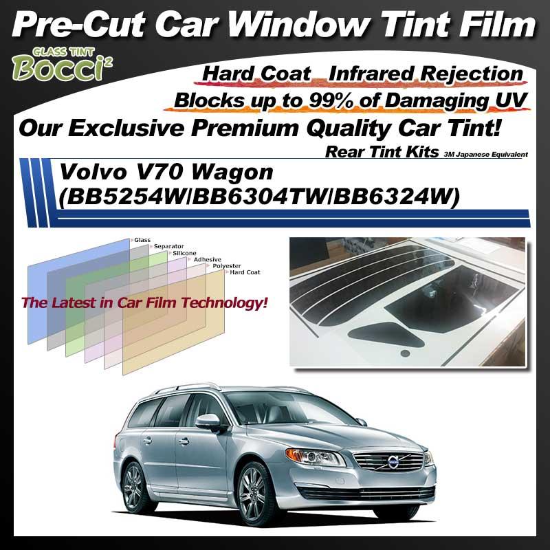 Volvo V70 Wagon (BB5254W/BB6304TW/BB6324W) Pre-Cut Car Tint Film UV IR 3M Japanese Equivalent